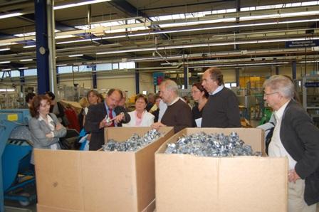 Besuch einer brandenburgischen Delegation, Besuch der brandenburgischen Delegation bei der GPM GmbH in Merbelsrod