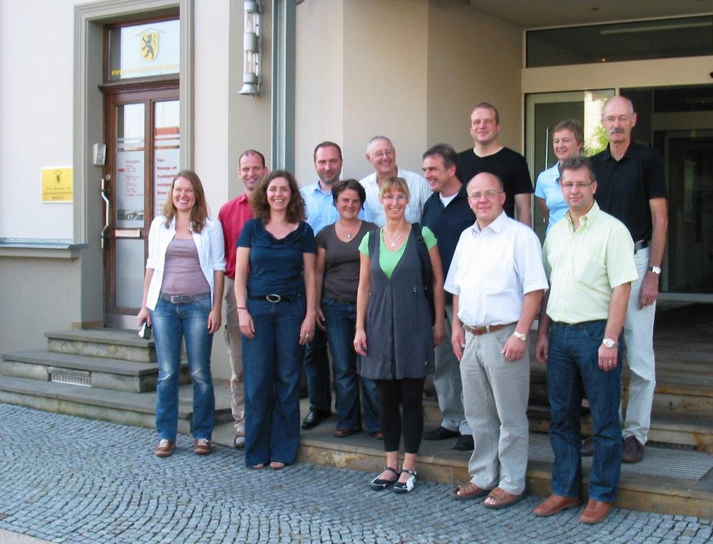 Treffen der Landesvertreter der BAG LAG am 24.08.11 in Weimar