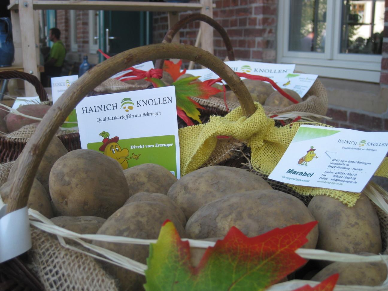 Regionales Produkt: Hainich Knollen, Quelle: IPU Erfurt