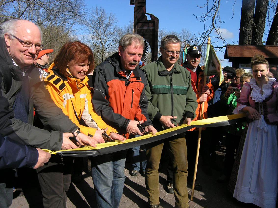 Einweihung Genussweg (Foto: Thüringer Landgesellschaft mbH)