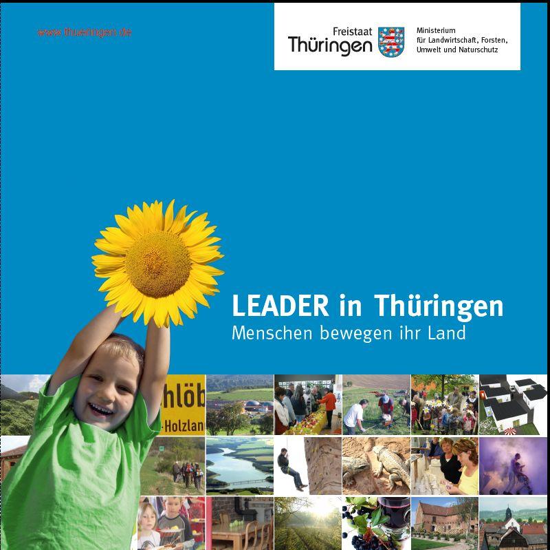 Titelseite der neuen LEADER-Broschüre