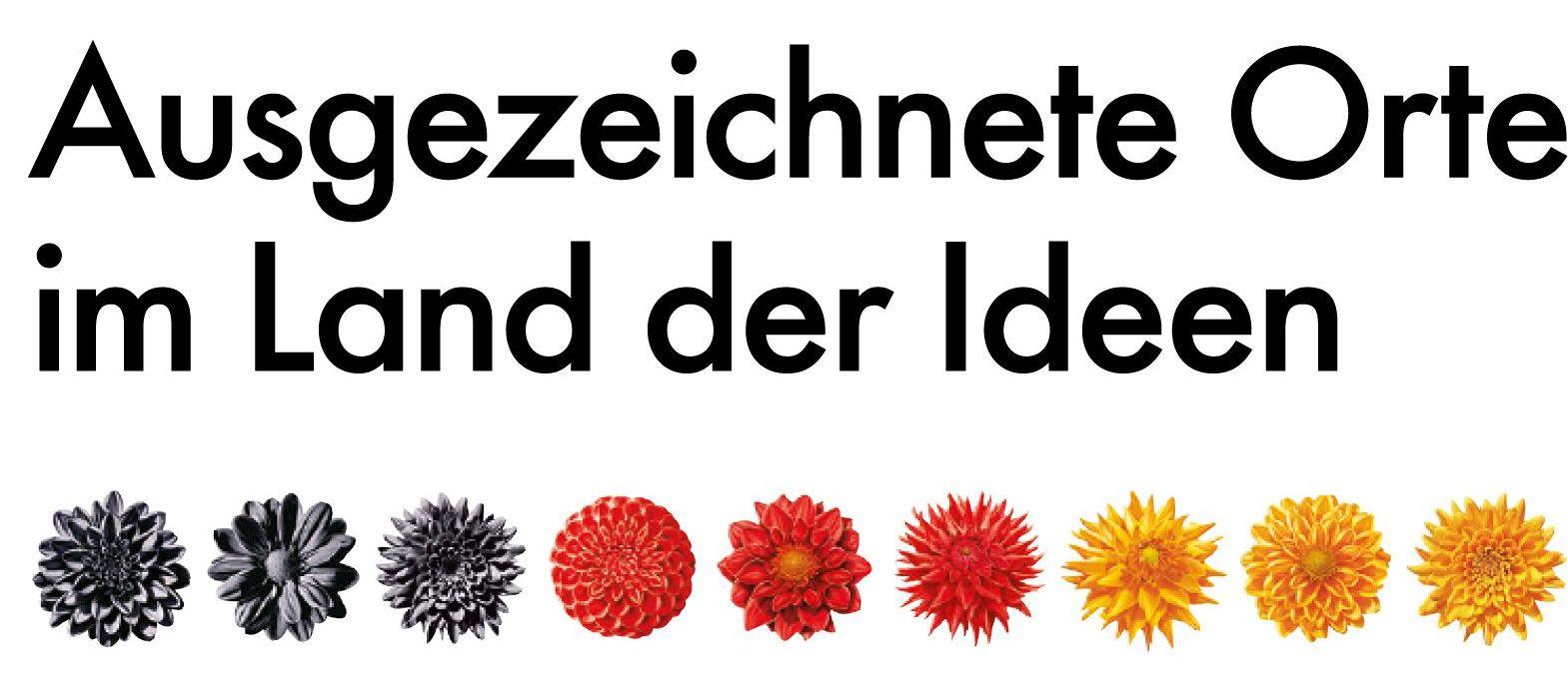 """Logo """"365 Orte im Land der Ideen"""""""