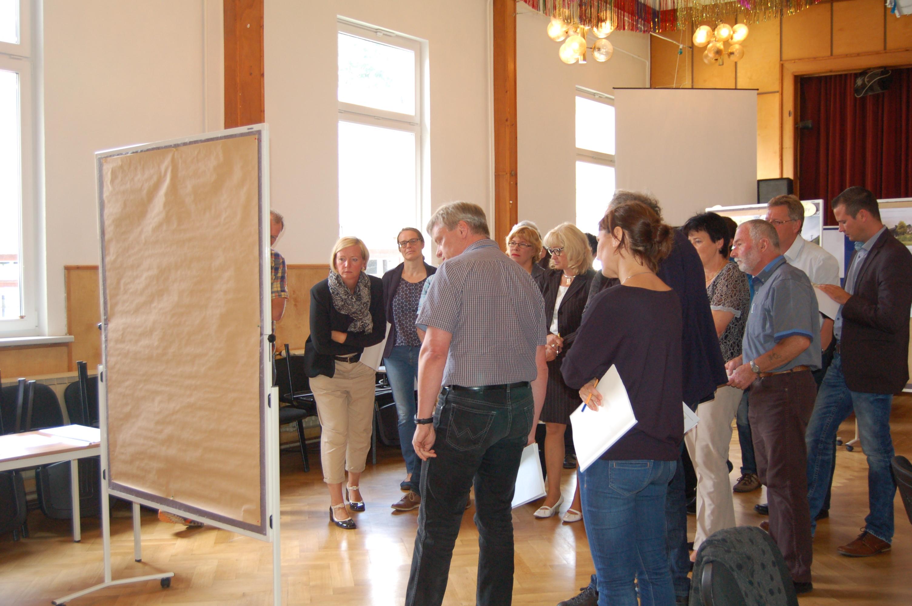 Preisgerichtssitzung in Stützerbach