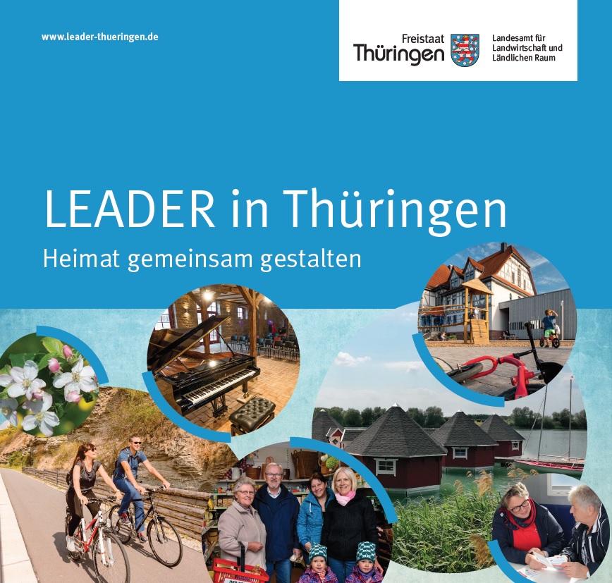 Titelbild LEADER-Broschüre 2020, Herausgeber: TLLLR
