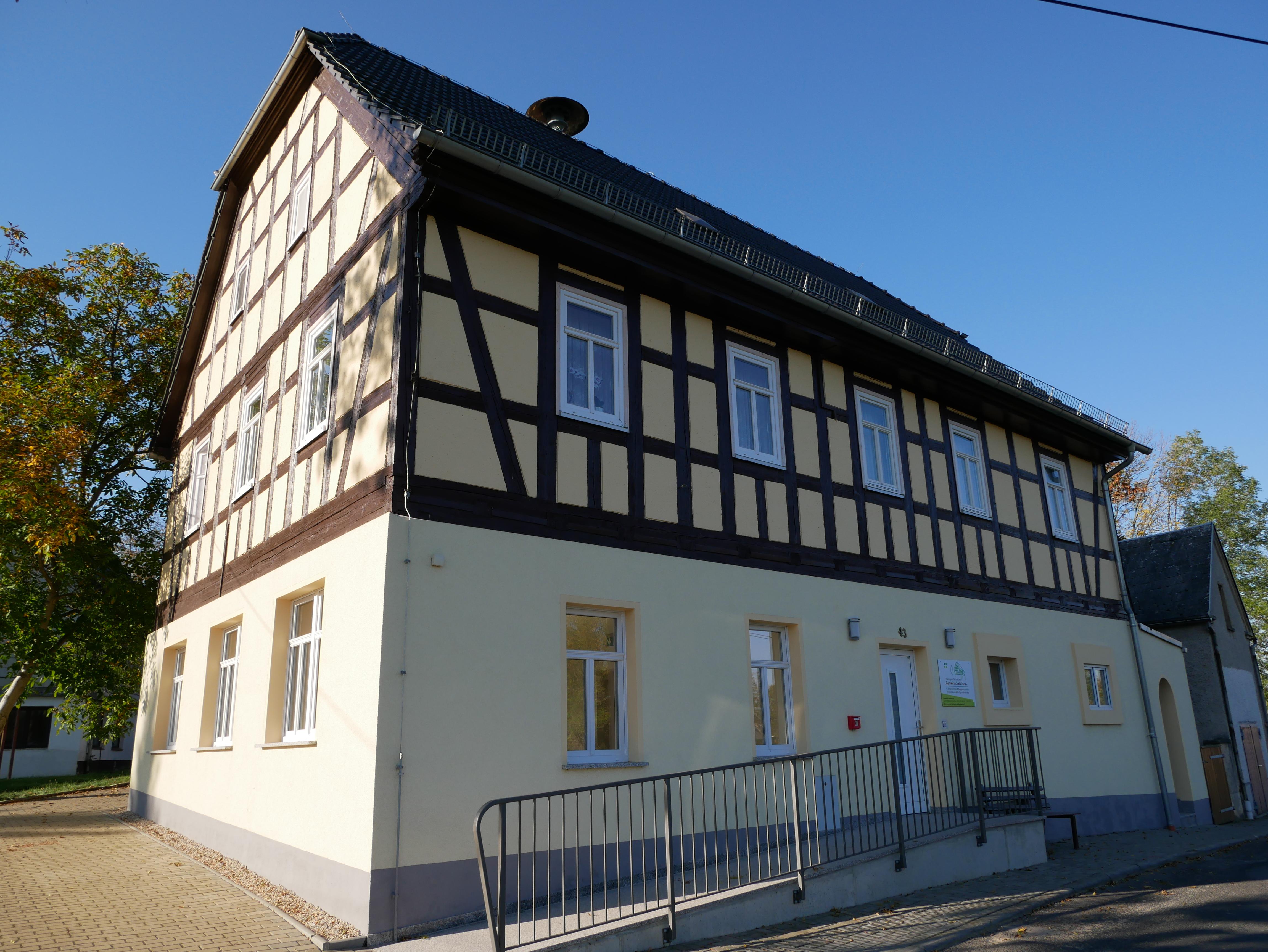 Gemeinschaftshaus Nischwitz, Foto: FEAL e. V.