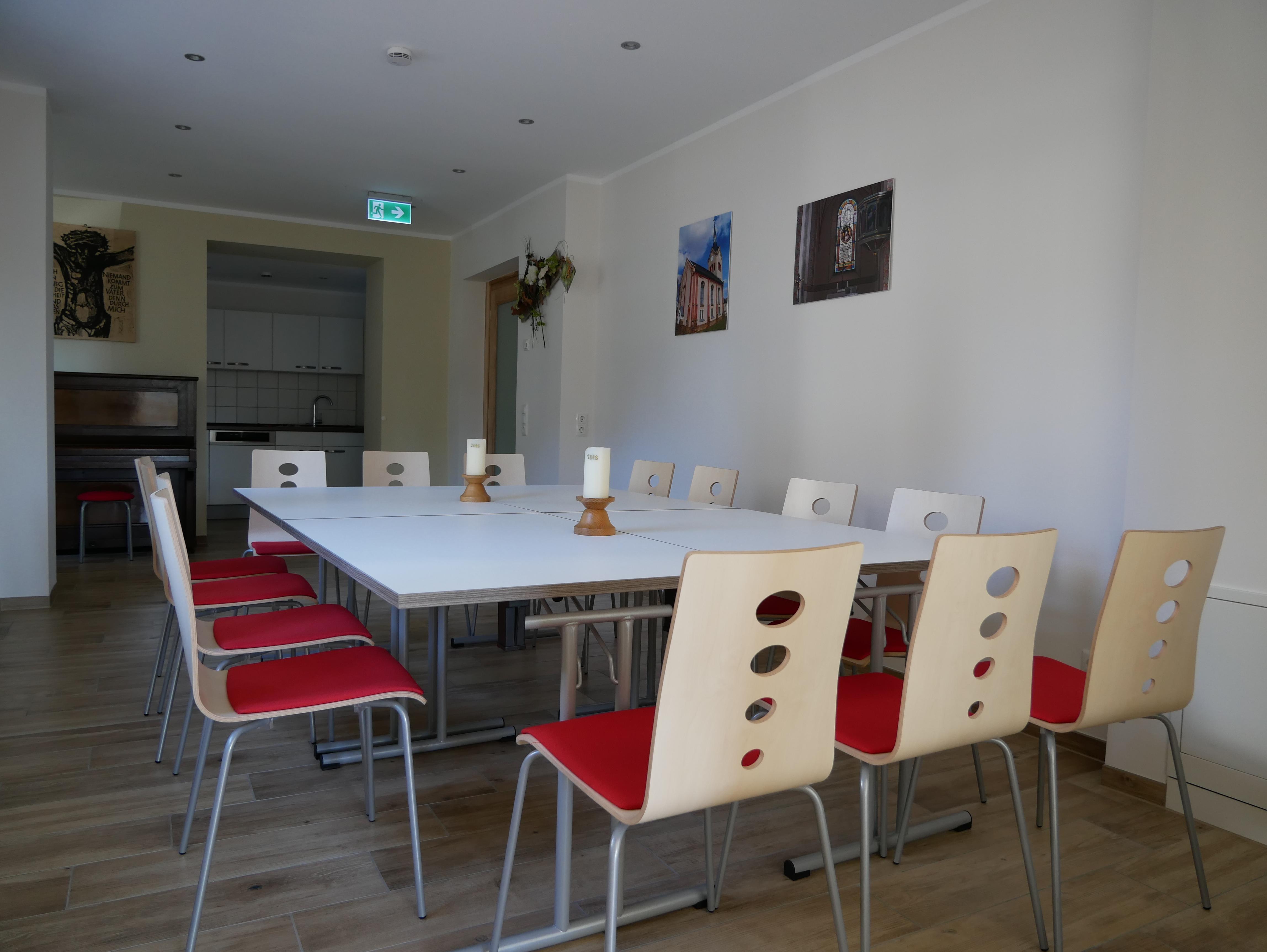 Innenansicht Gemeinschaftshaus Nischwitz, Foto: FEAL e.V.