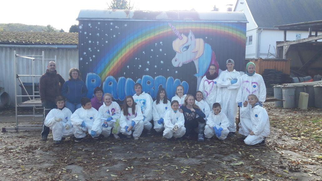 "gefördertes Jugendprojekt ""Rainbow"", Quelle: RAG Saale-Holzland"