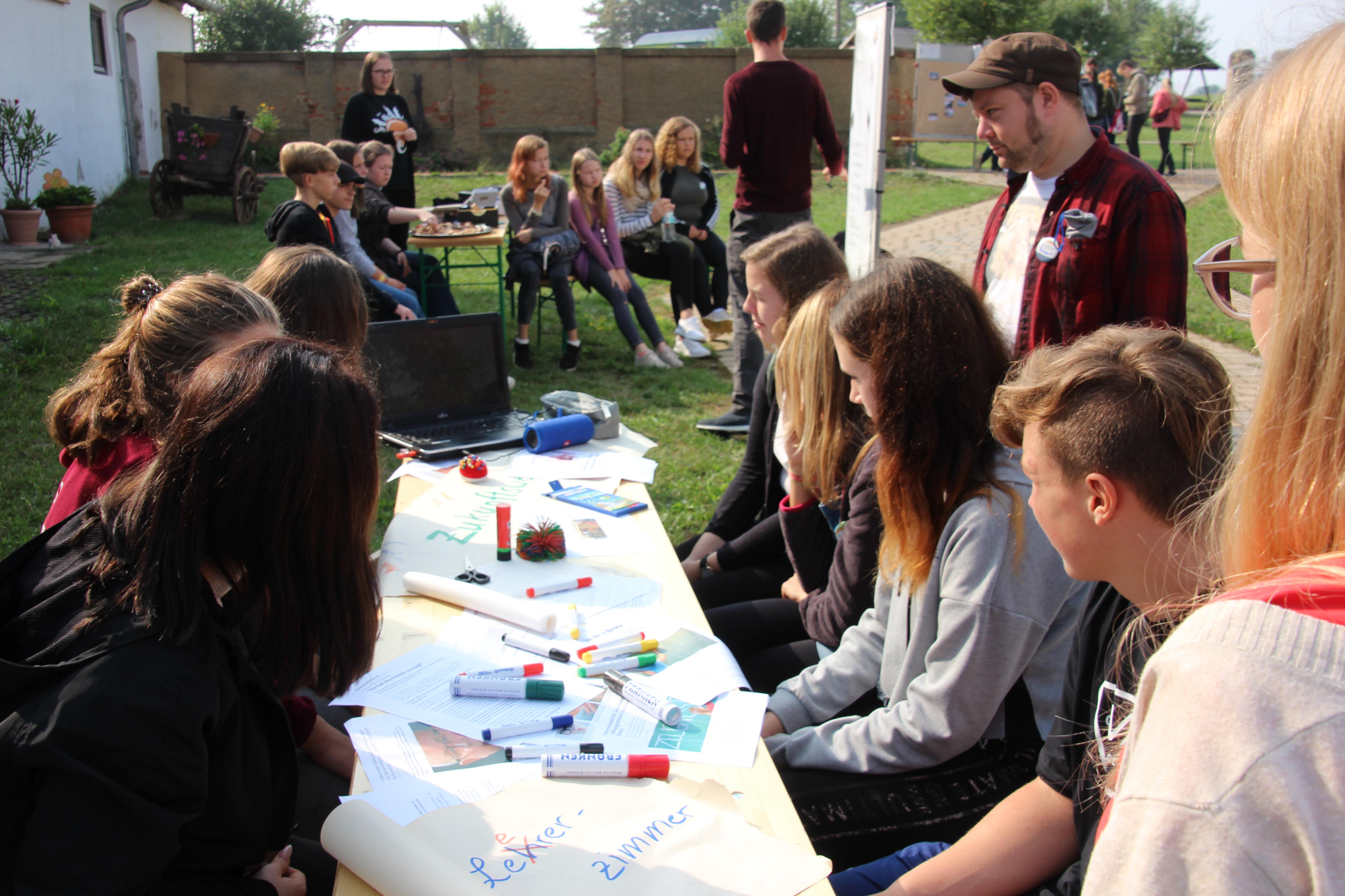 Workshops zur Schülerwerkstatt, Quelle: RAG Saale-Holzland