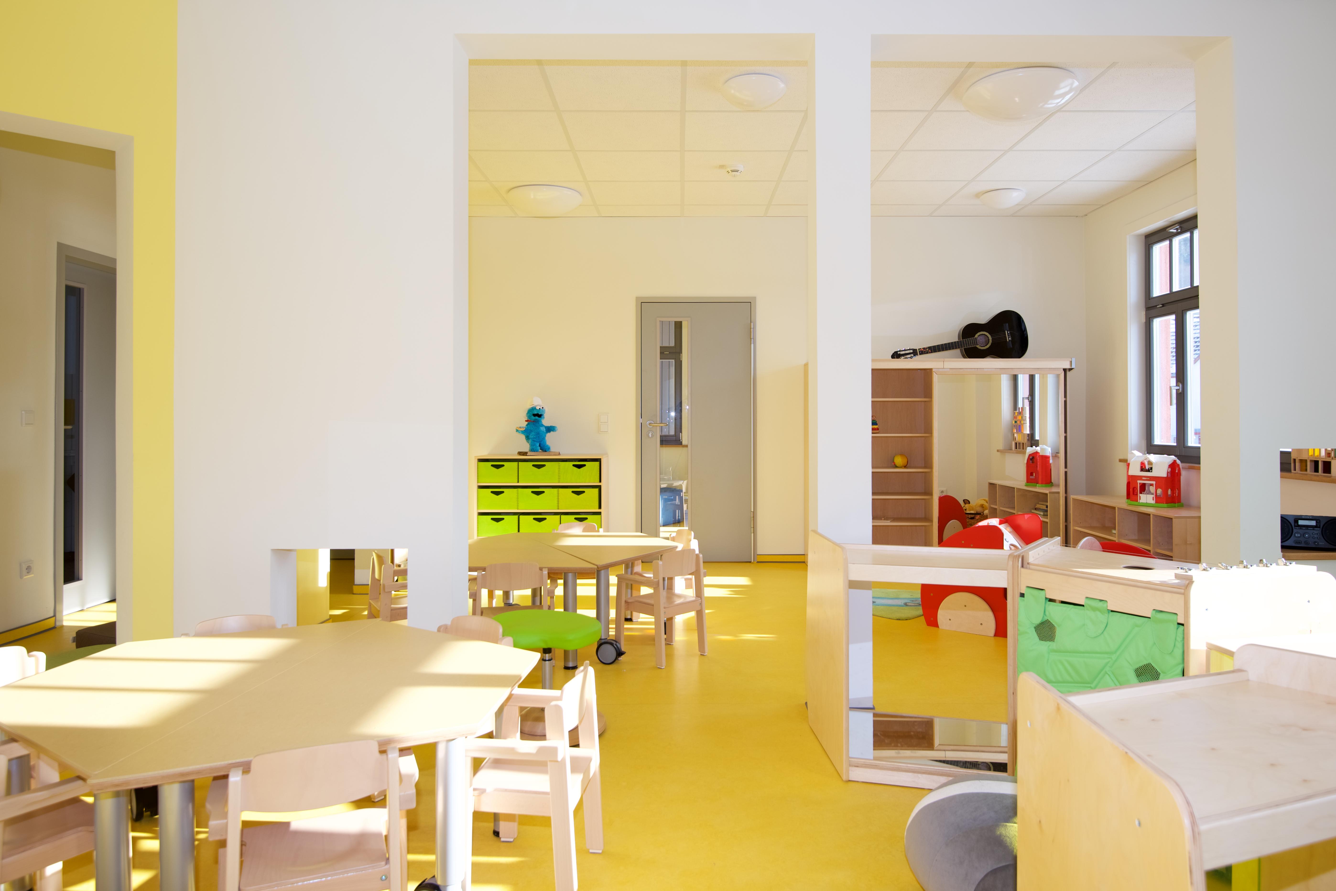 Sanierte Innenräume, Quelle: Axel Bauer formplus