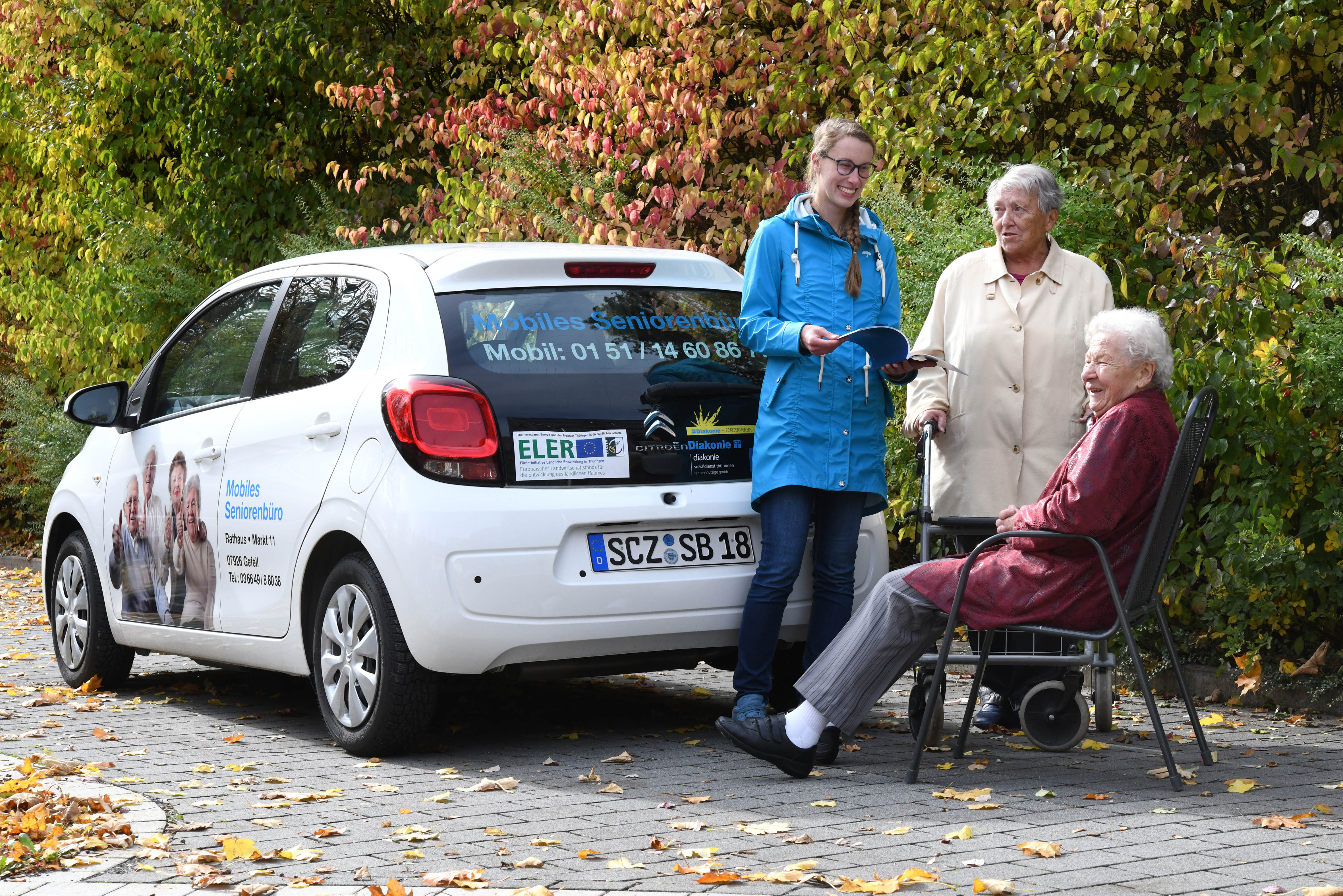 Mobile Seniorenberatung im Saale-Orla-Kreis, Quelle: Diakoniestiftung Weimar Bad Lobenstein gGmbH