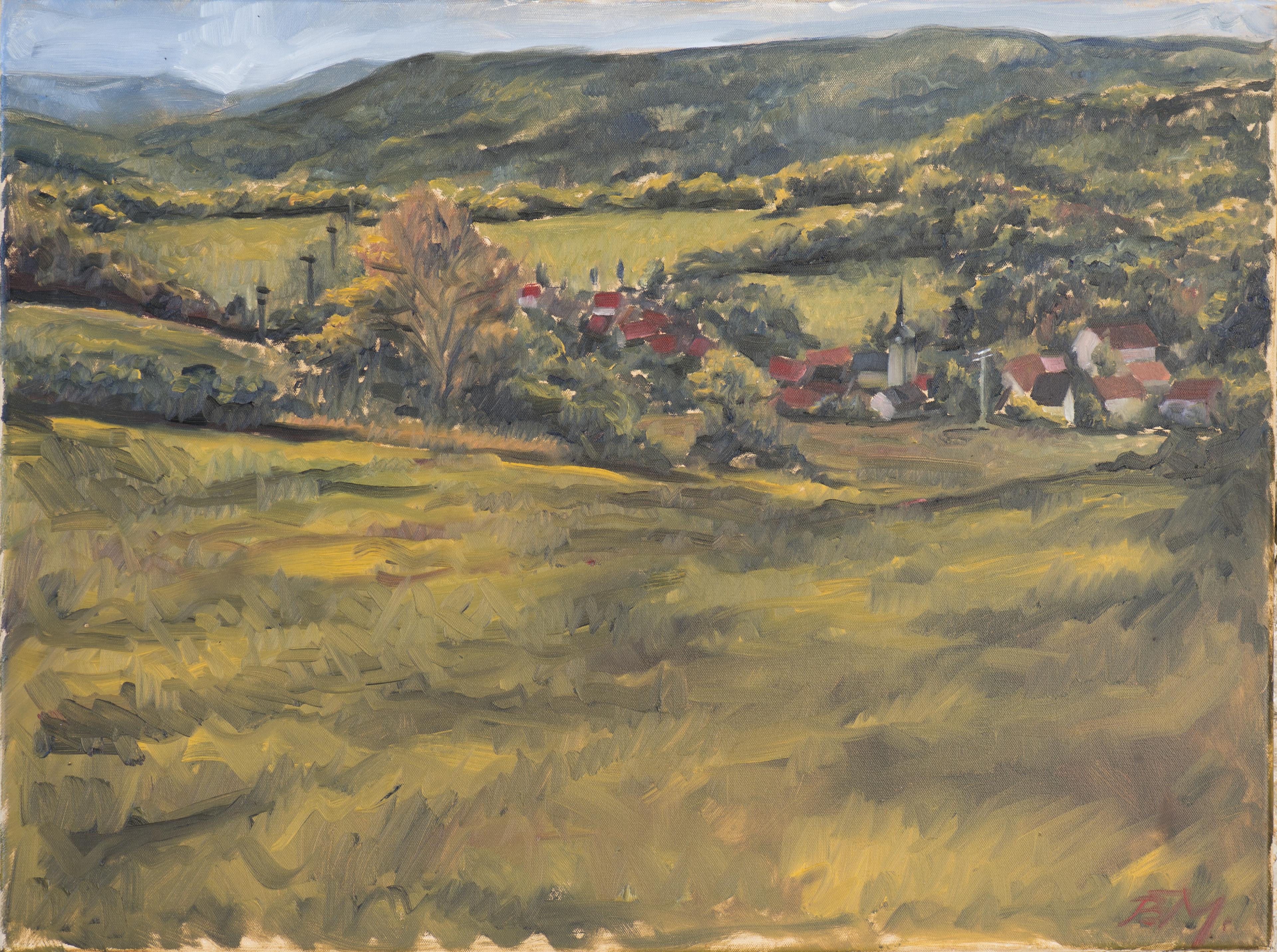 Eines der entstandenen Gemälde (Quelle: RAG Saalfeld-Rudolstadt)