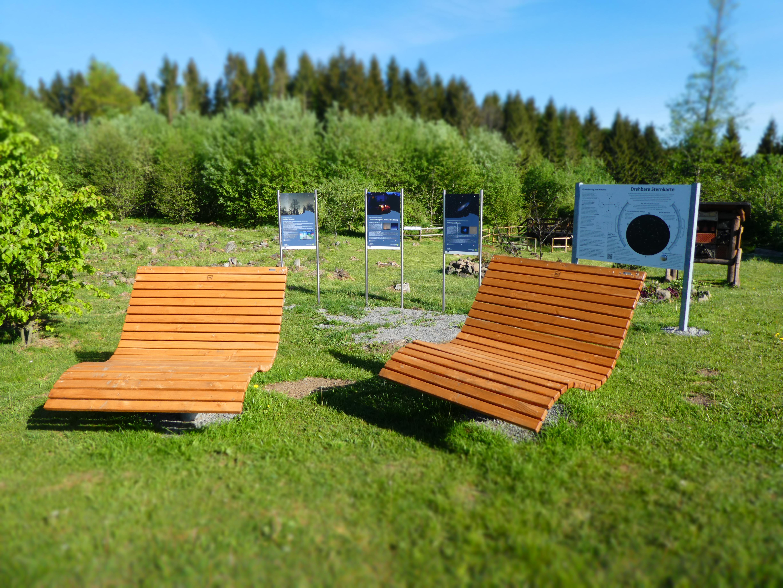 STERNENwellenliege, Quelle: Mathias Schmidt, Verein Sternenpark Rhön e.V.