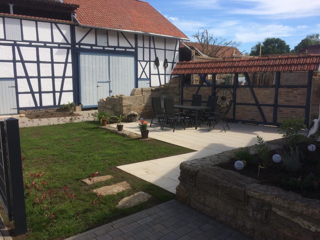 Innenhof des alten Bauernhauses, Quelle: Christian Hohlstein