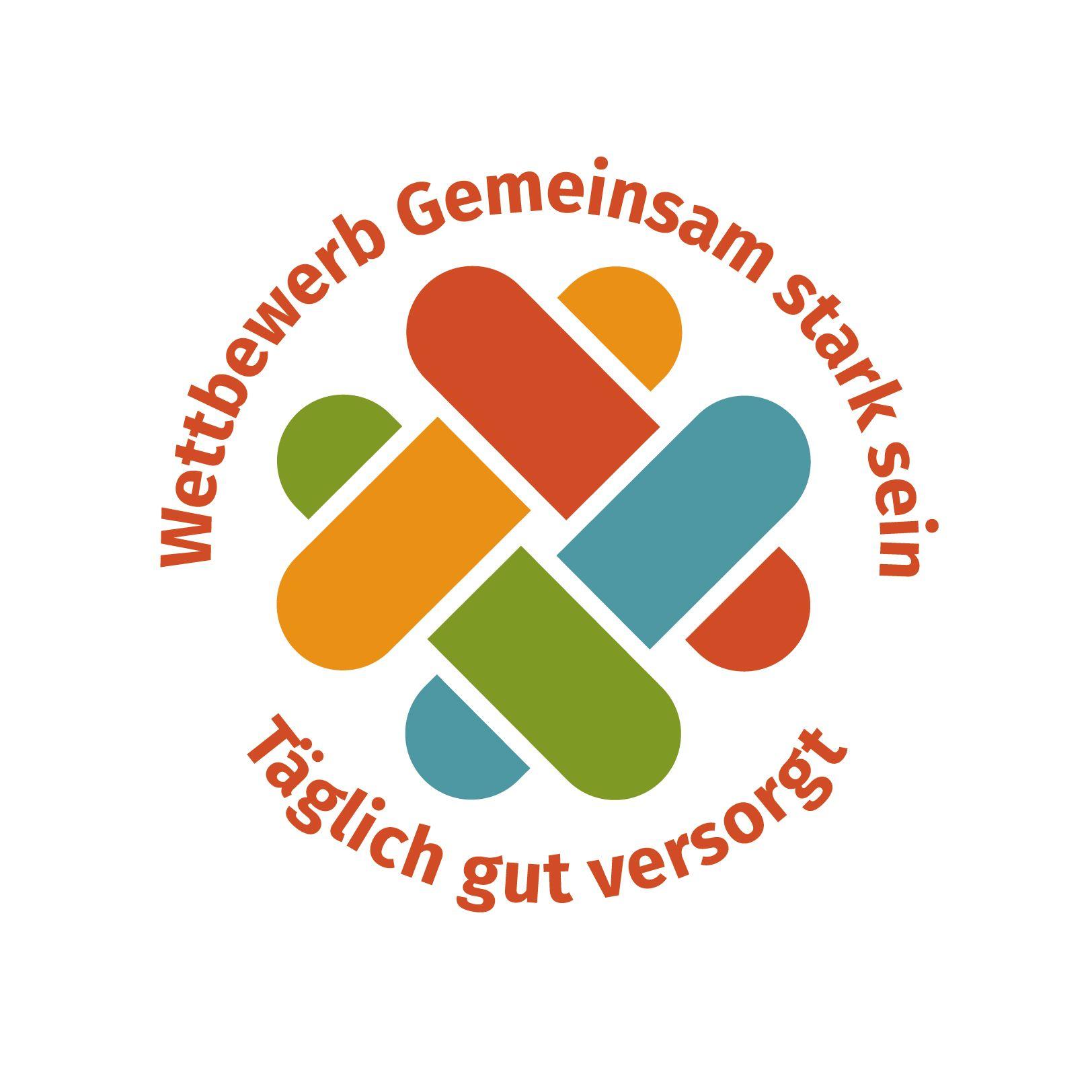 """Logo des Wettbewerbs """"Täglich gut versorgt!"""""""