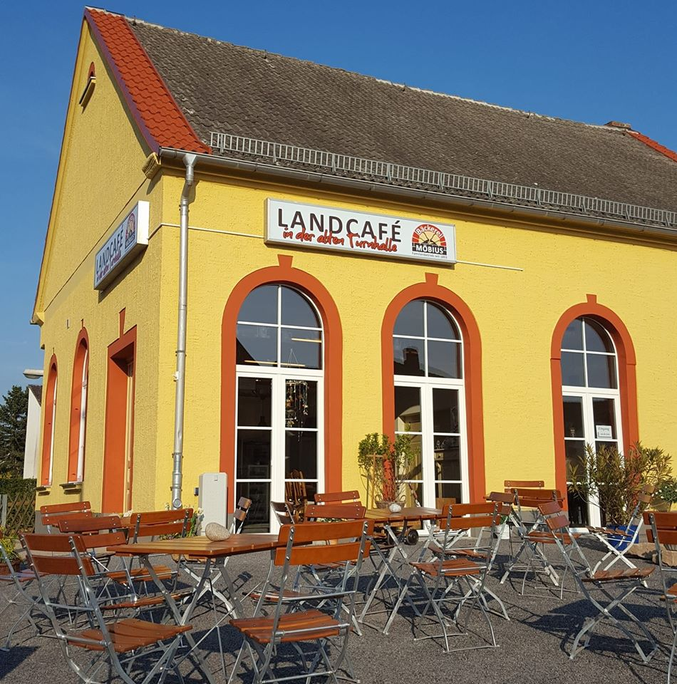 Das umgestaltete Landcafé in der Außenansicht, Quelle: Michael Möbius