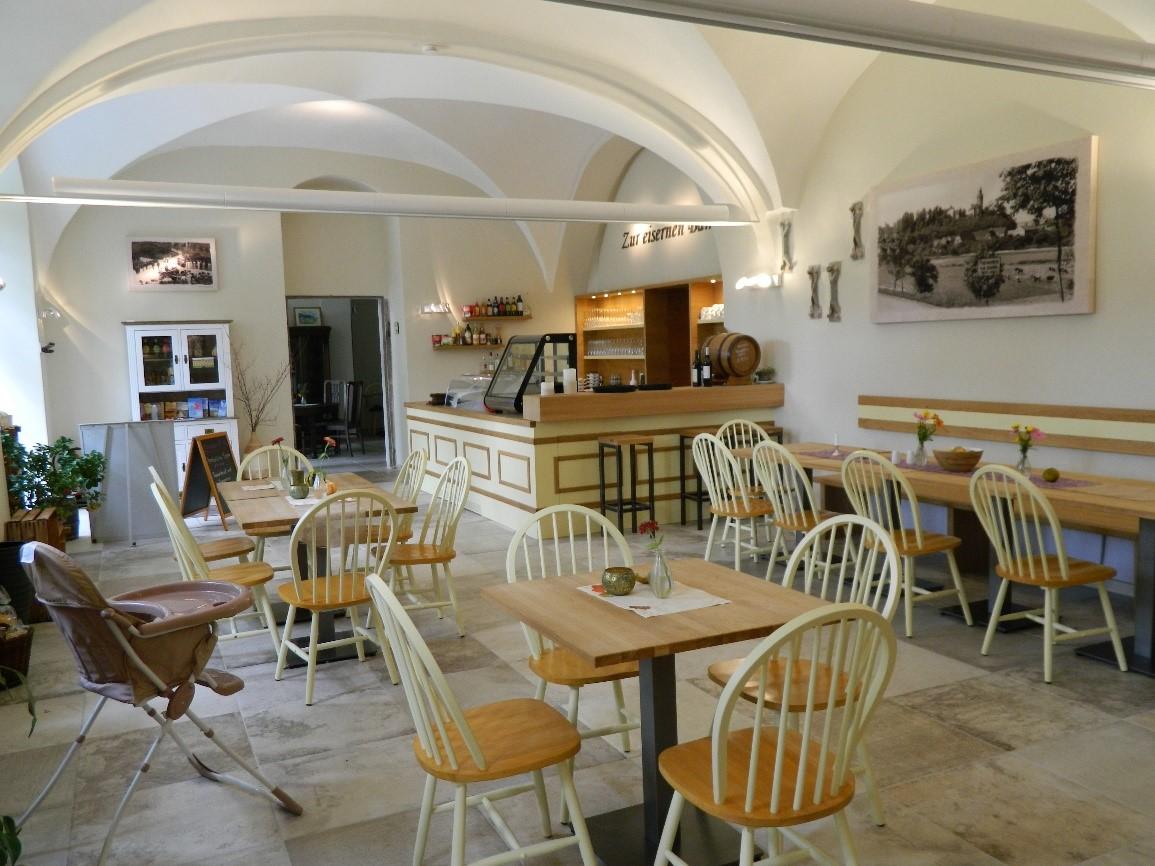 Innenansicht Café (Quelle: VG Oberes Sprottental)