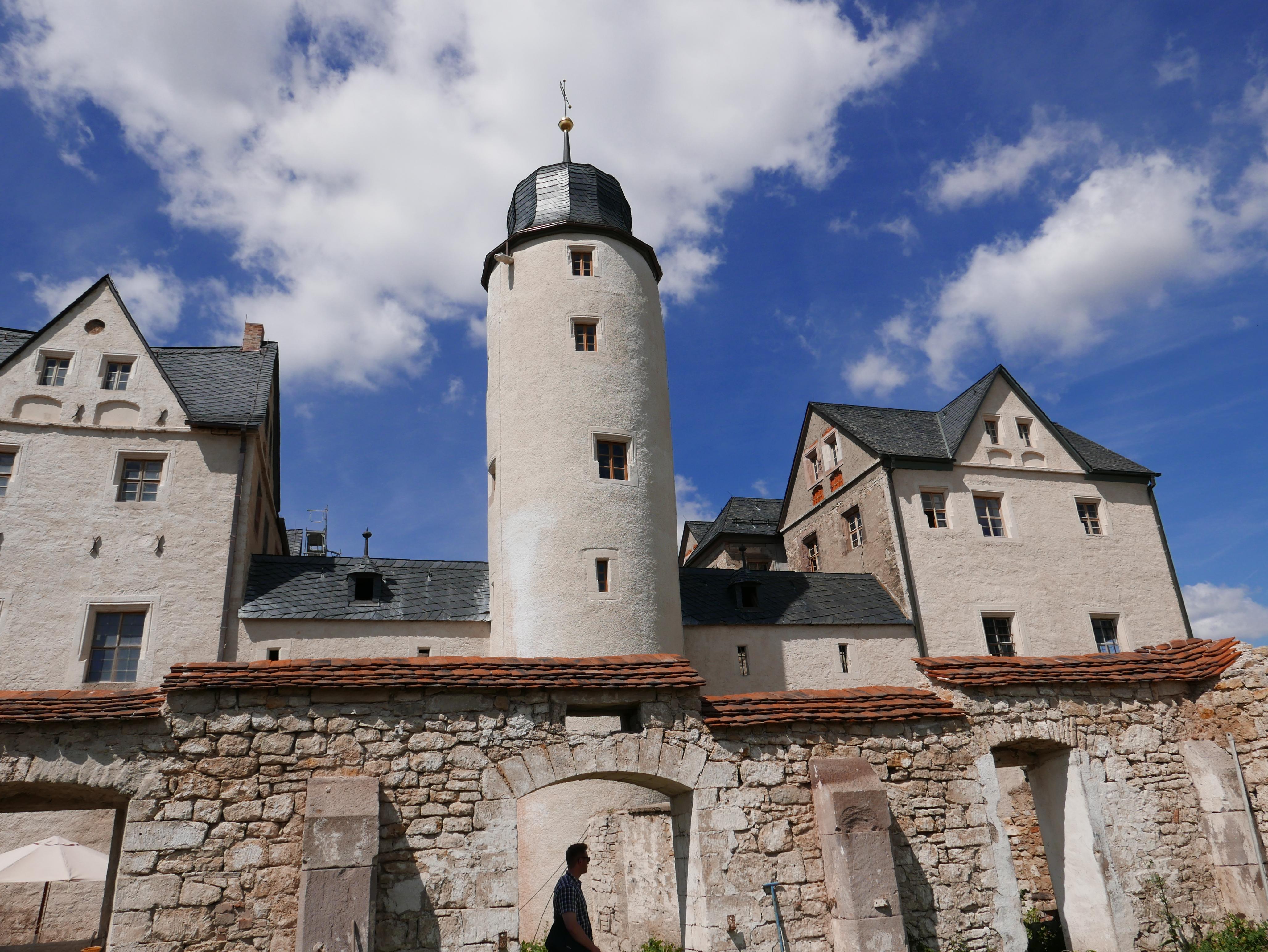 Schloss Kannawurf, Außenansicht, Quelle: RAG Sömmerda-Erfurt