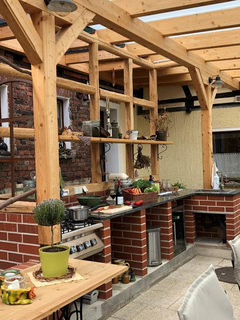 Die fertige Sommerküche, Quelle: Falk Lautenschläger