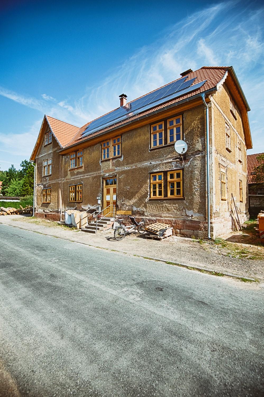ehemaliges Gutshaus in Weidebrunn (Quelle:  A. Bauer)