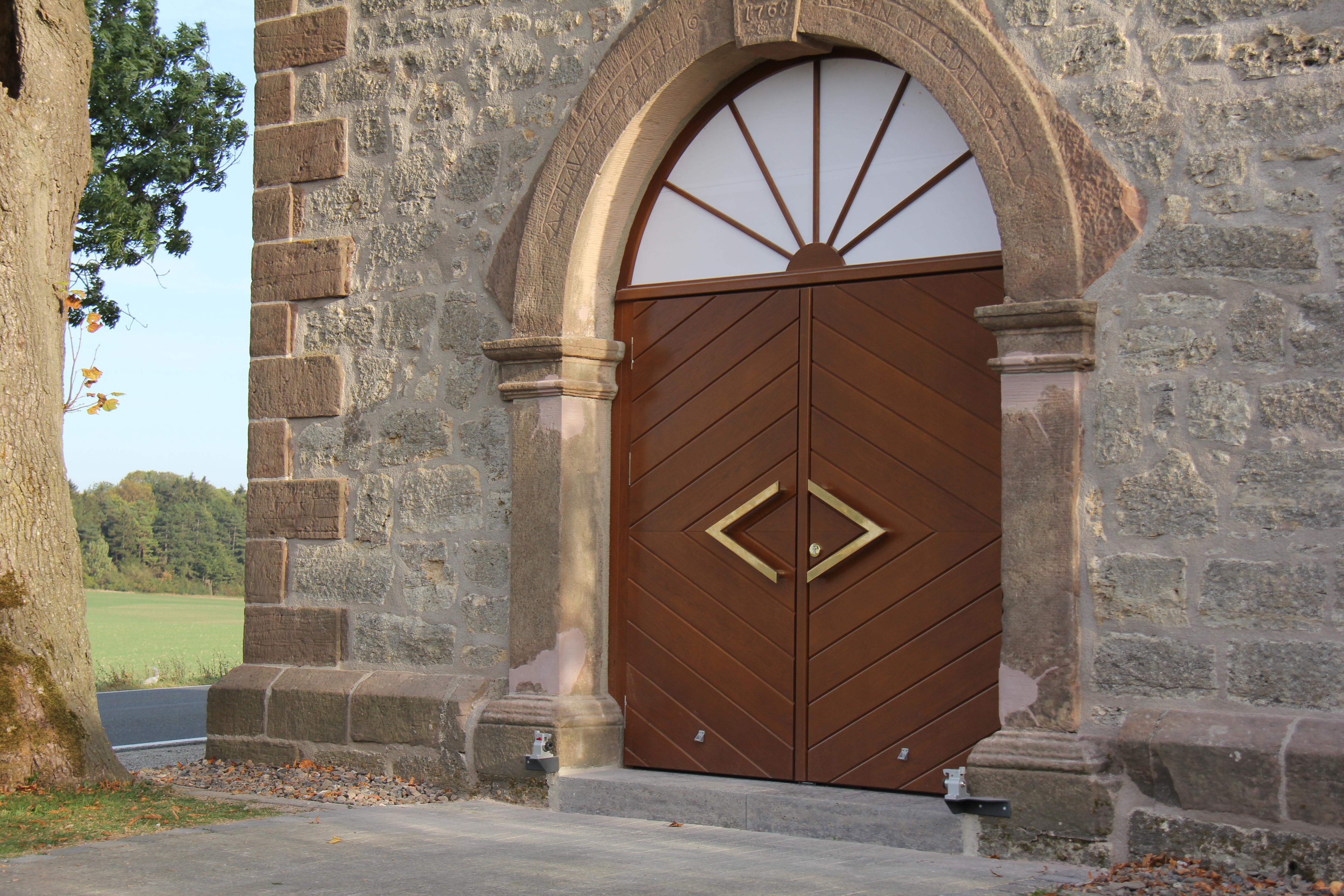 Kaltenebersche Klus, Außentür, Quelle: RAG Eichsfeld