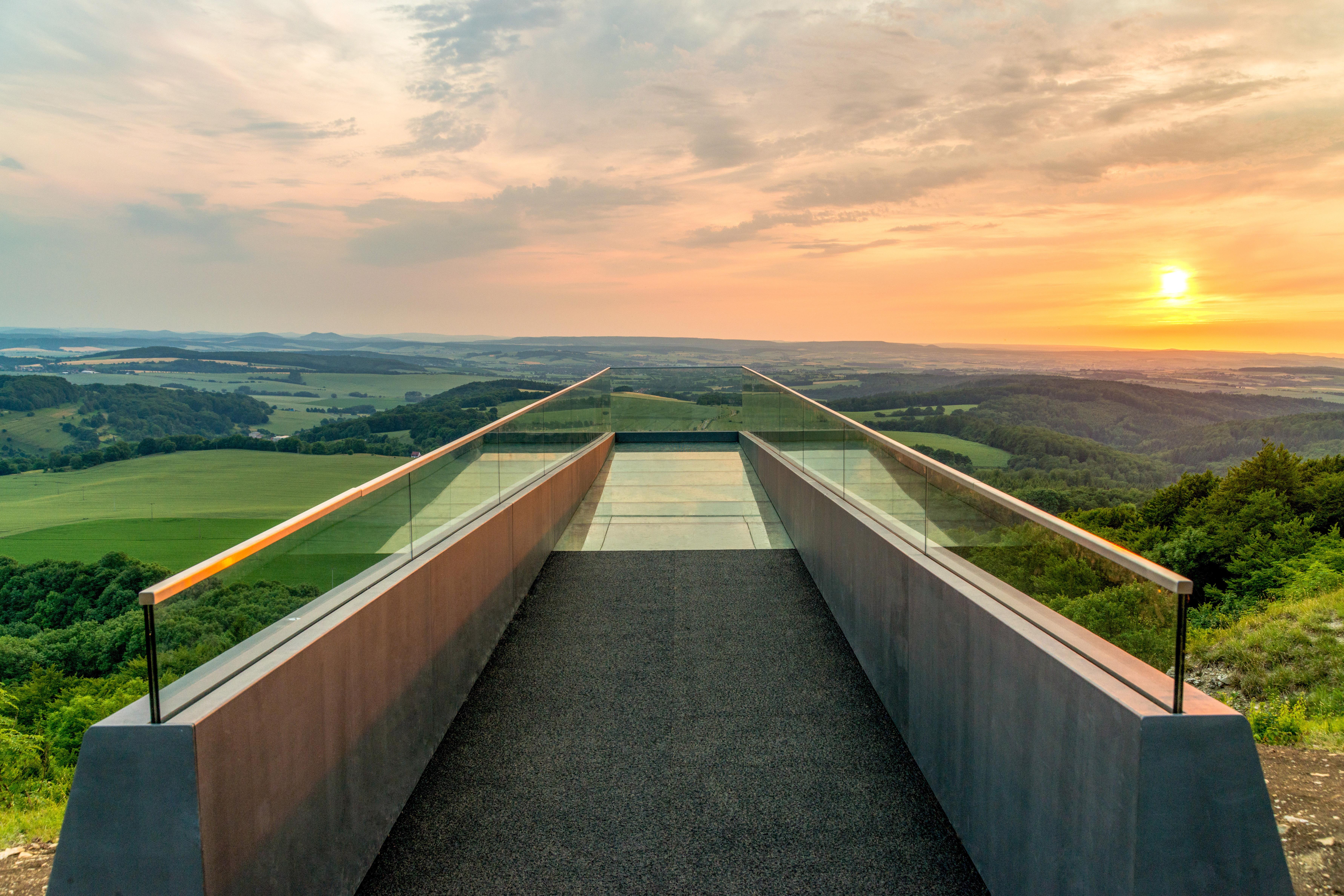 Sonnenstein Skywalk, Quelle: Eichsfeldwerke GmbH