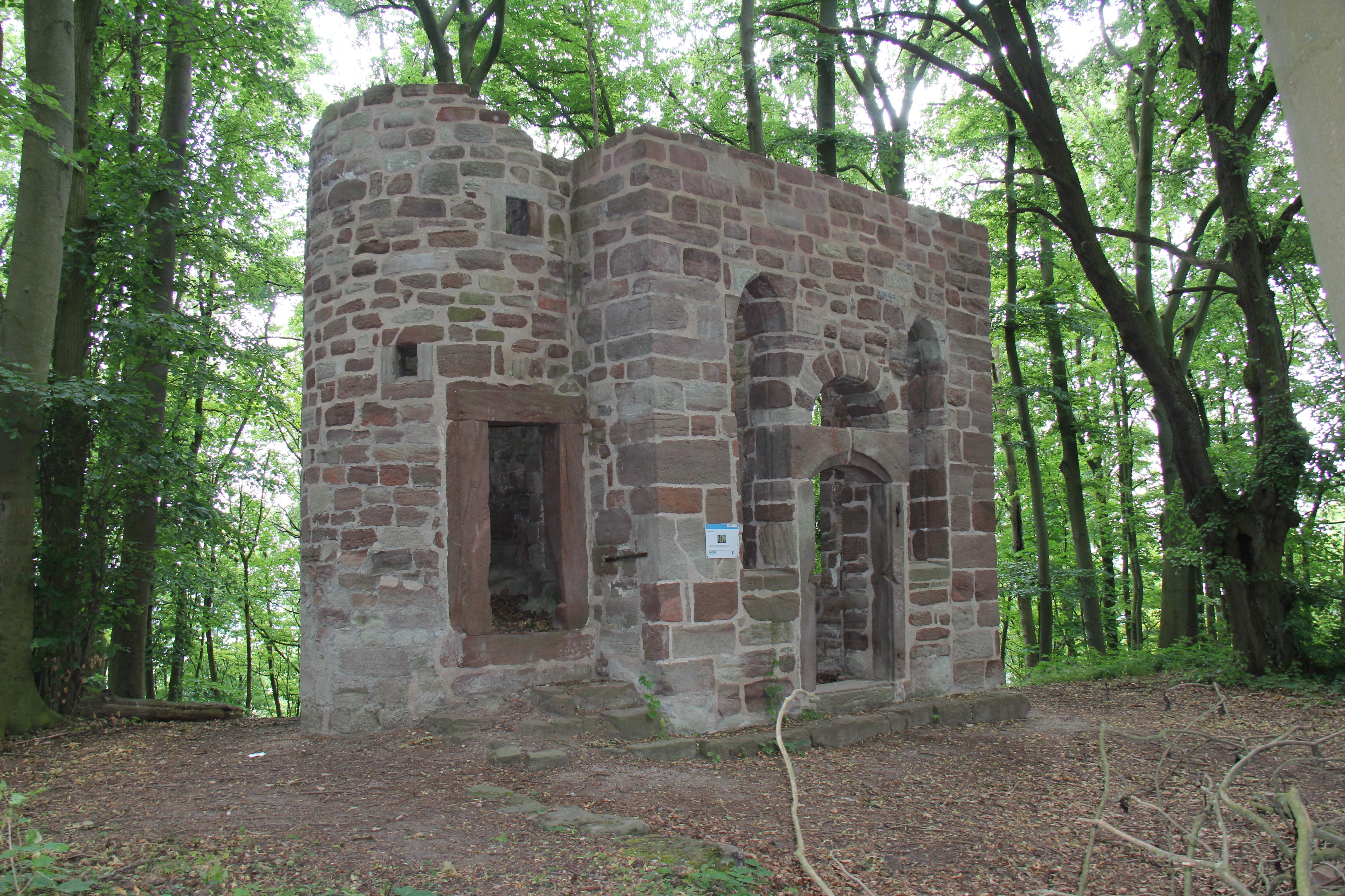 Burgkapelle St. Michael auf dem Rusteberg (Quelle: RAG Eichsfeld)