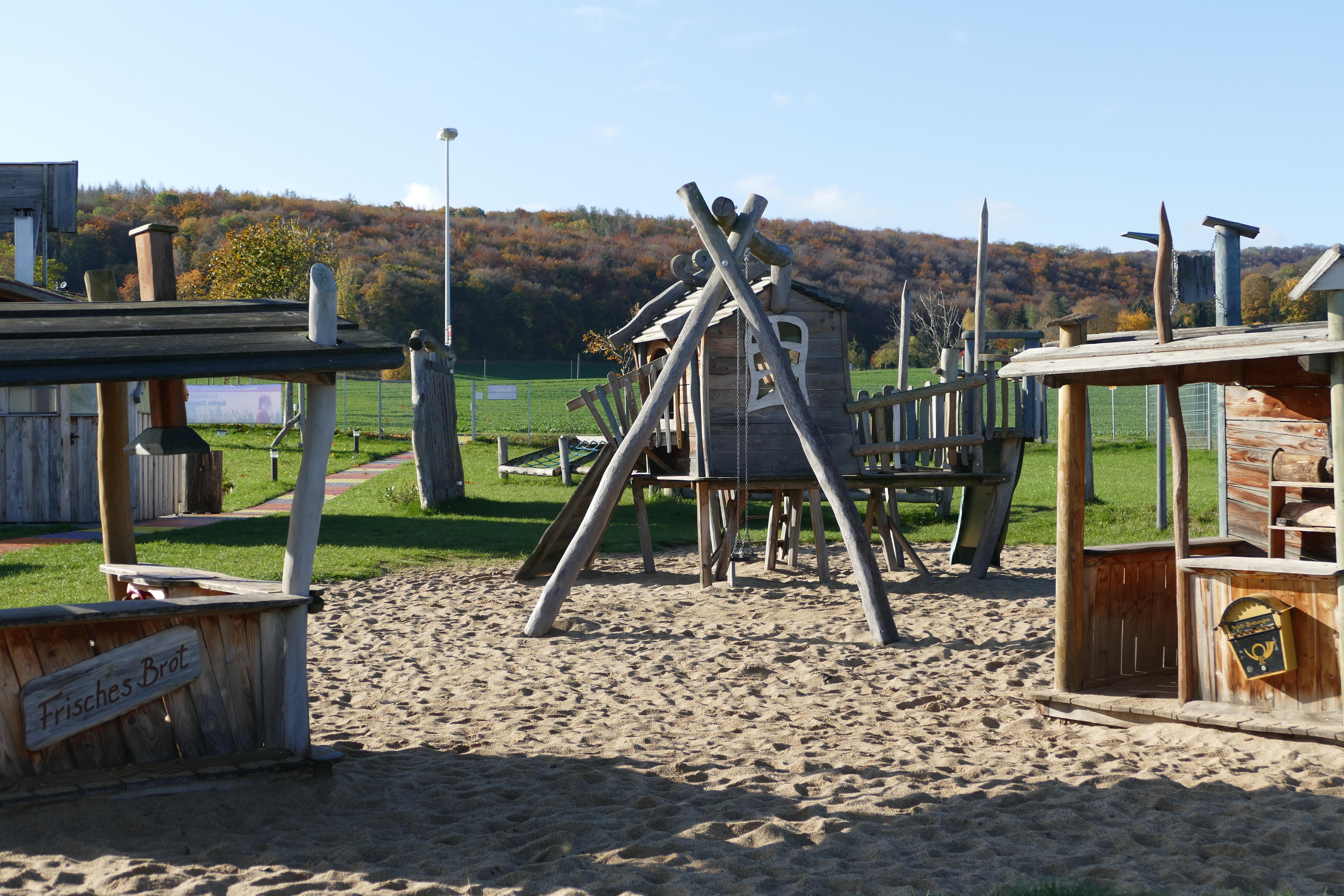 Erlebnisspielplatz der Goethe Chocolaterie & Schaumanufaktur, Quelle: Felicitas Bachmann, TLLLR