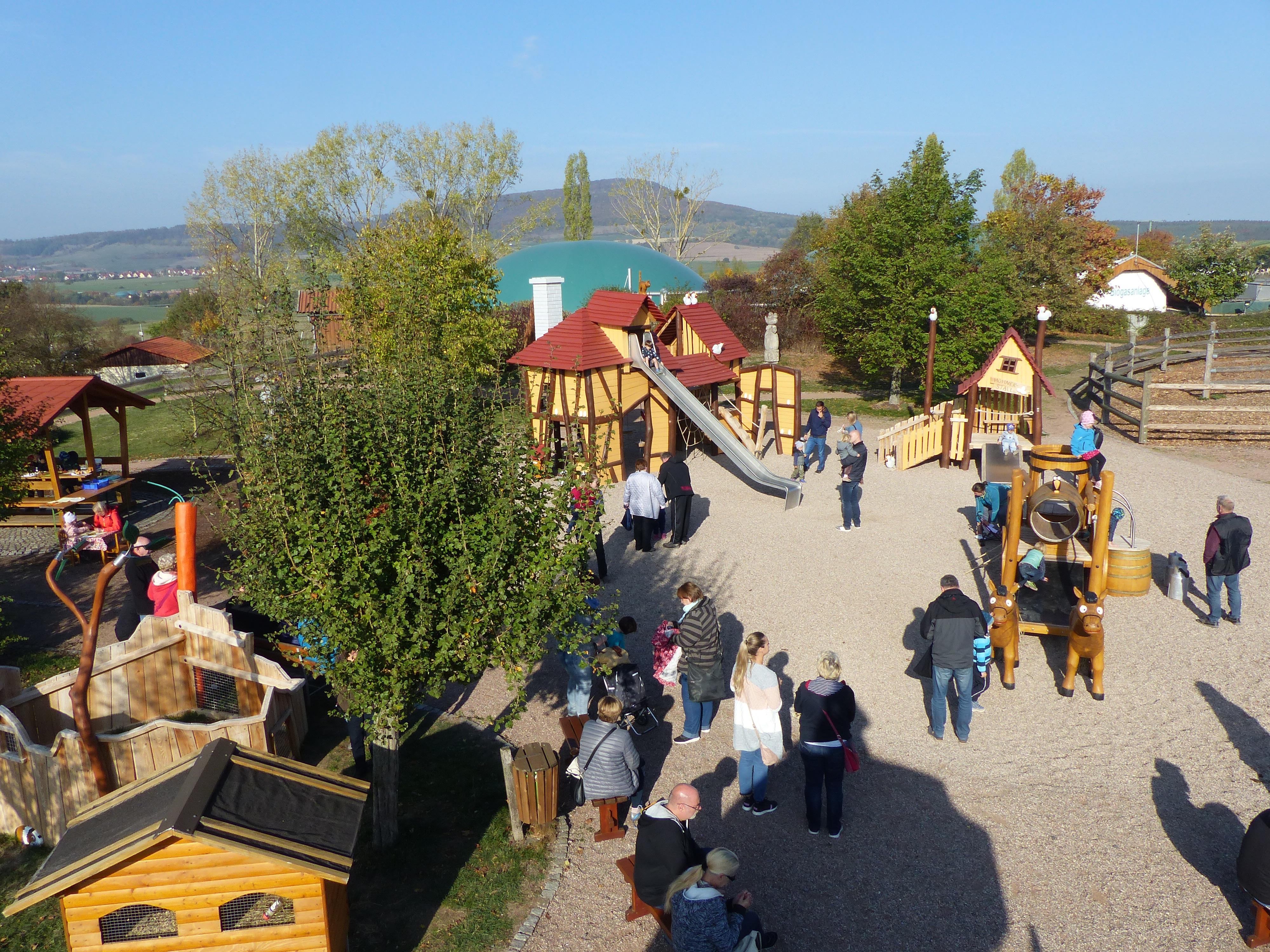 Spielbereich Rhönland-Hof 2, Quelle: Rhönland eG, Dermbach